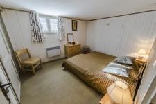 Bedroom of a chalet in rental